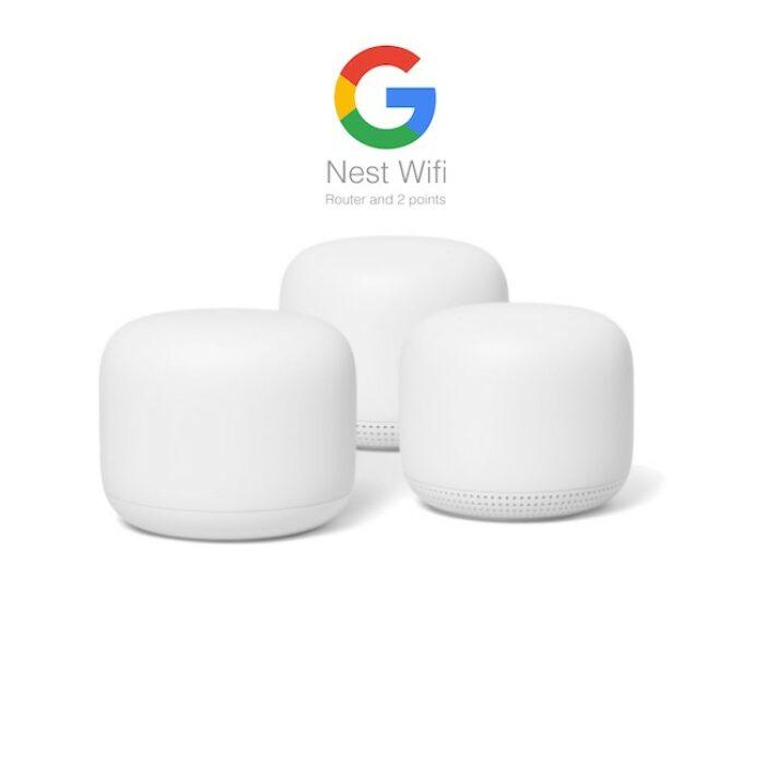 Google Nest WiFi Router 3 pack - GadgetsShop