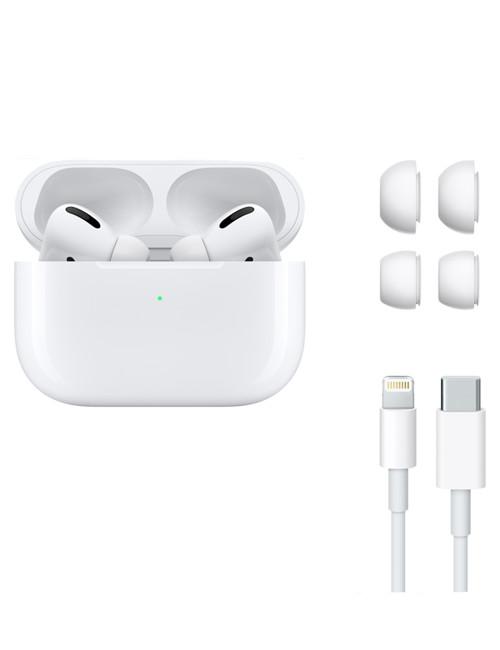 Apple AirPods Pro Hvid - Pakkens indhold - GadgetsShop