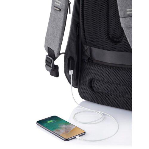 XD Design Bobby Anti-Tyveri Rygsæk med indbygget USB-kabel - GadgetsShop