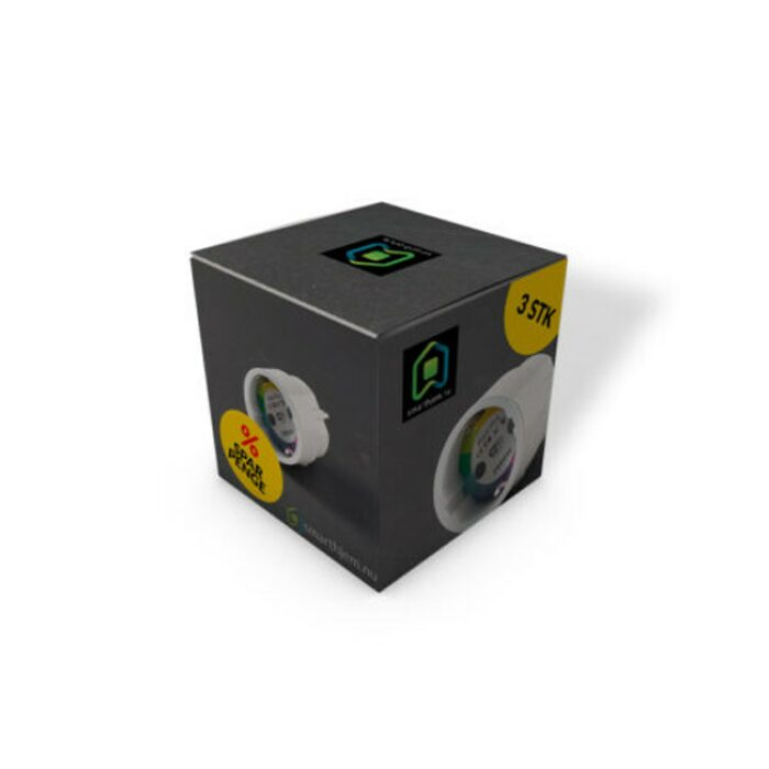 Homeo Smart Stikkontakt - 3 pk. - GadgetsShop