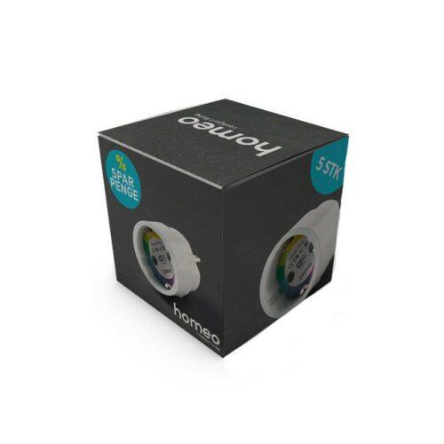 Homeo Smart Stikkontakt - 5 pk. - GadgetsShop