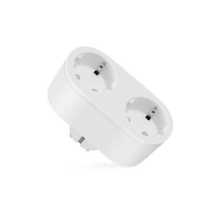 Homeo smart home WiFi stikkontakt dobbelt 16A - GadgetsShop