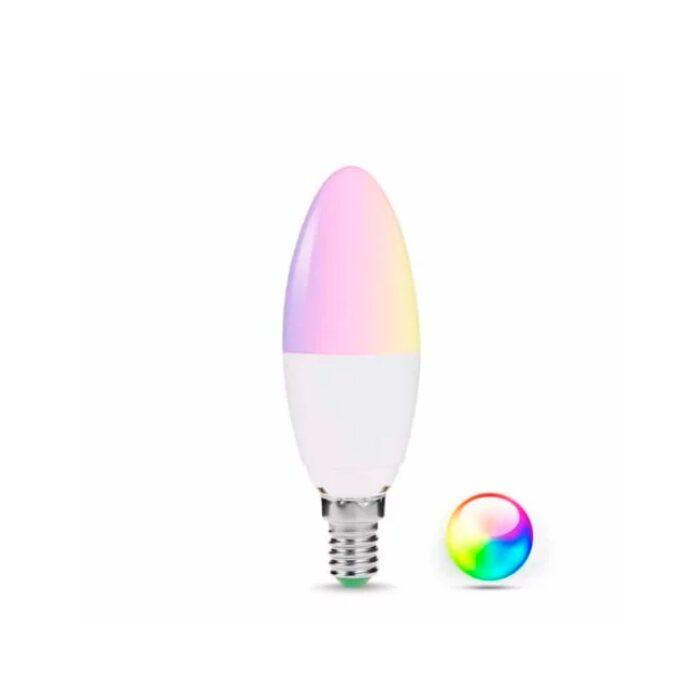 Homeo Smart Home WiFi Pære RGB E14 - GadgetsShop