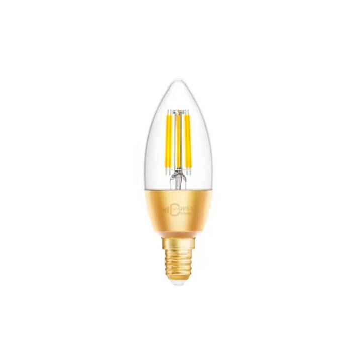 Homeo Smart Home WiFi vintage kerte lyspære hvid (E14) 6W - GadgetsShop