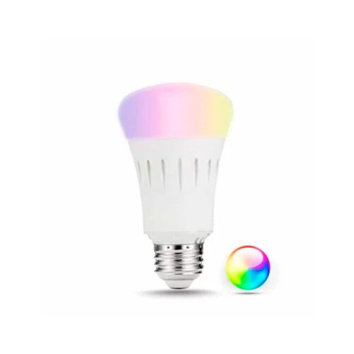 Homeo smart home WiFi lyspære RGB+W (E27) - GadgetsShop