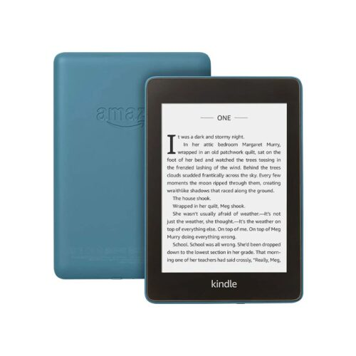 Amazon Kindle Paperwhite 8GB - Waterproof eBook Reader - Blå - GadgetsShop