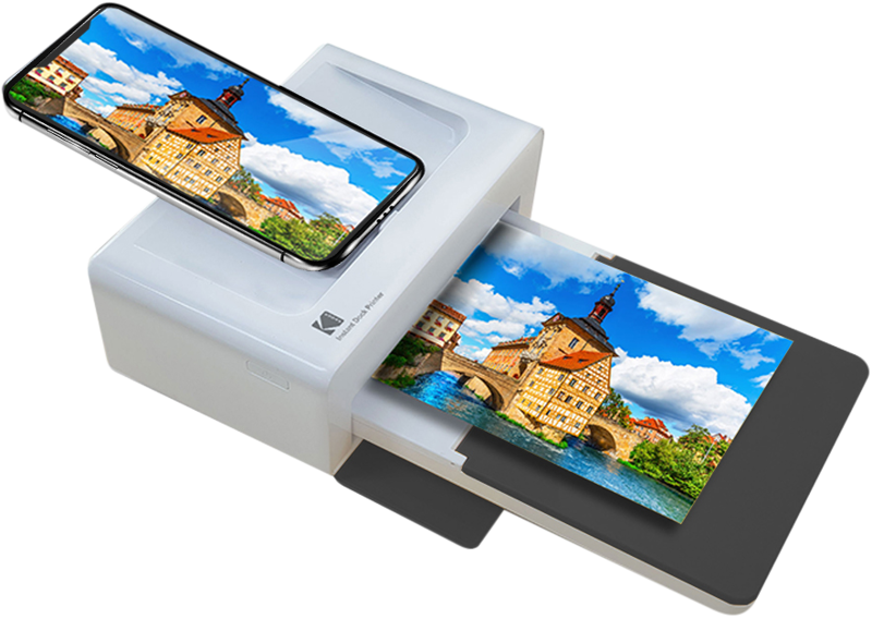 Kodak Dock Printer Fotoprinter Bluetooth